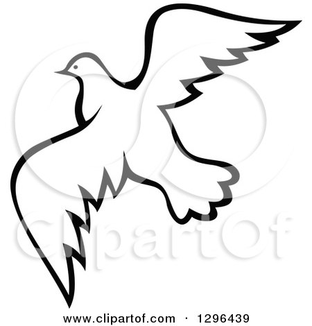 450x470 Dove Clipart Dove Flying