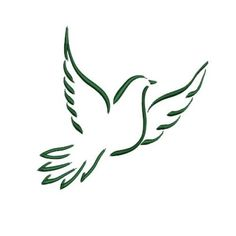 236x236 Clip Art Vector Logos Of Colorful Peace Doves. Peace Doves