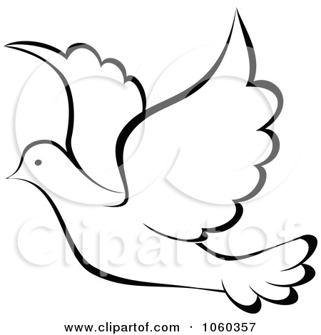450x470 Drawn Turtle Dove White Dove