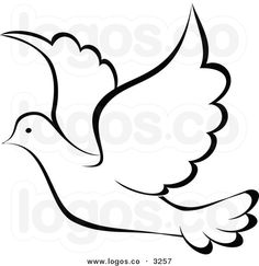 236x243 Christmas Doves Clipart