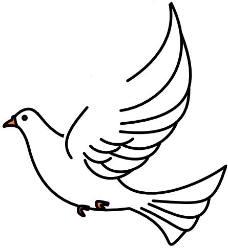 445x485 Clipart Dove Getbellhop