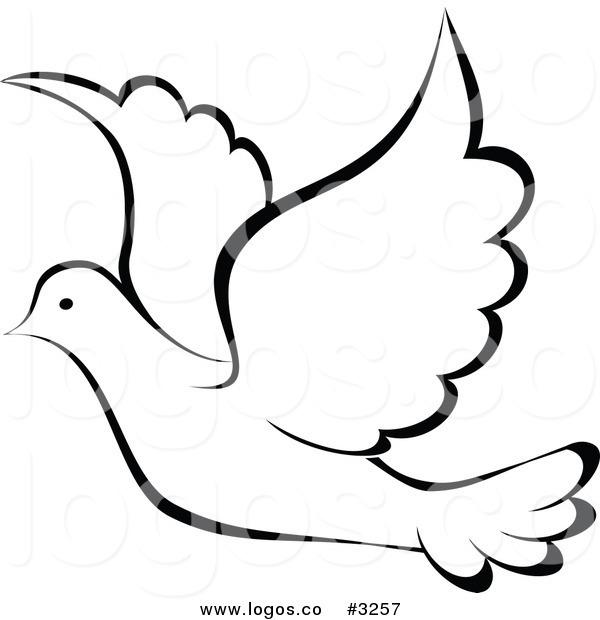 600x620 Dove Clip Art Black And White Art Amp Peace Clip Art