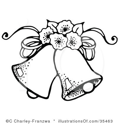 400x420 Dove Clipart Wedding Bell