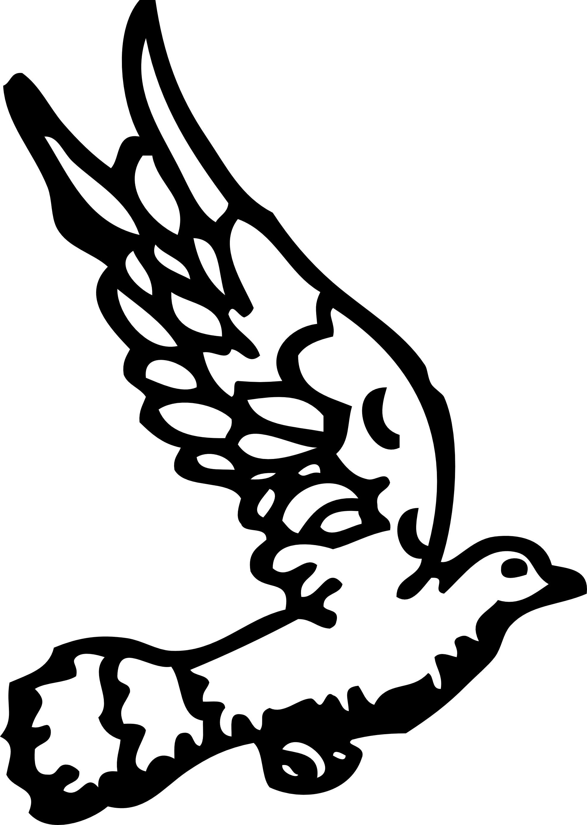 1979x2779 Flying Dove Clip Art