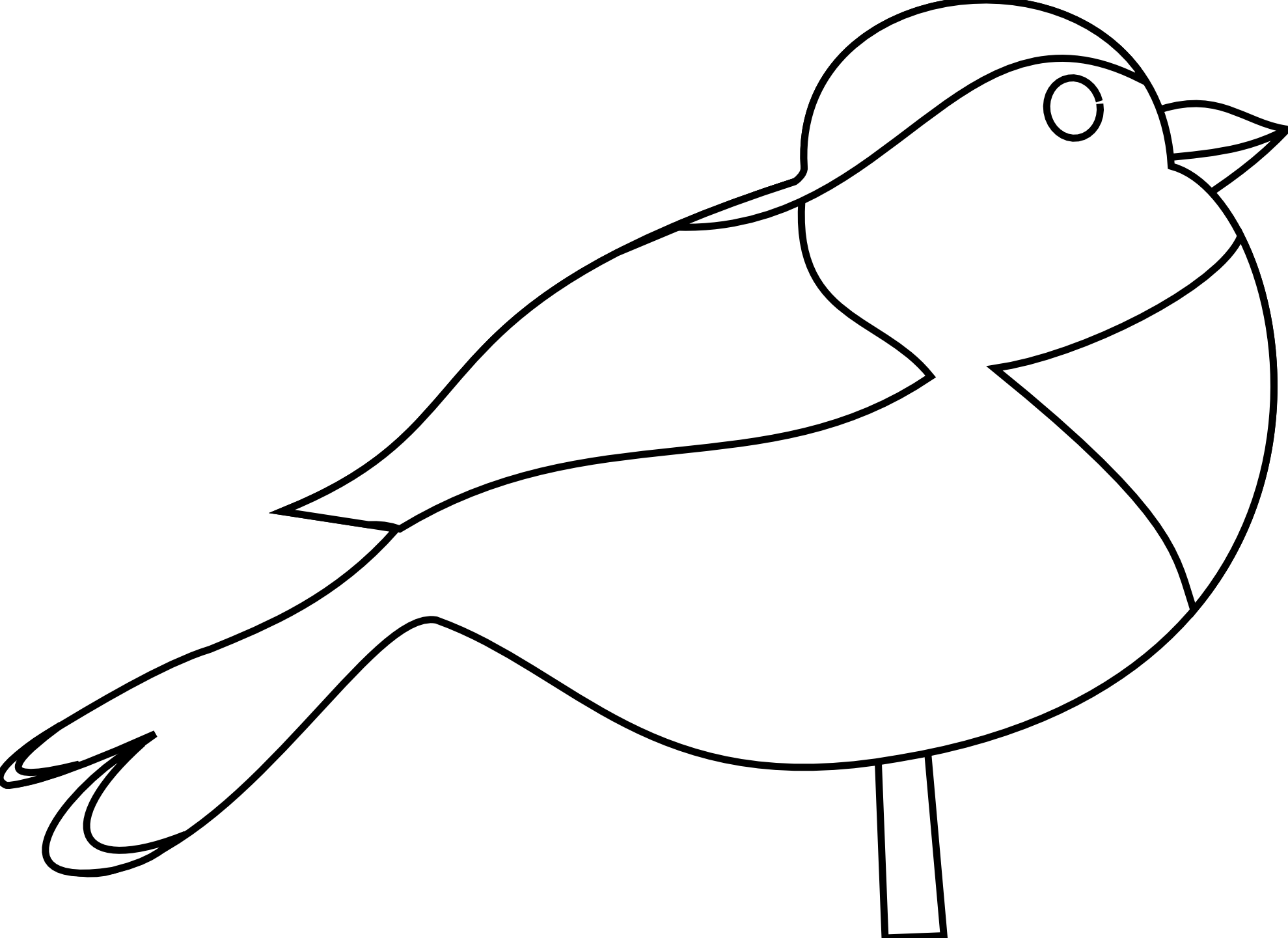 1979x1441 Mourning Dove Clipart Black And White