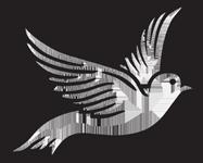 187x150 Clipart Dove