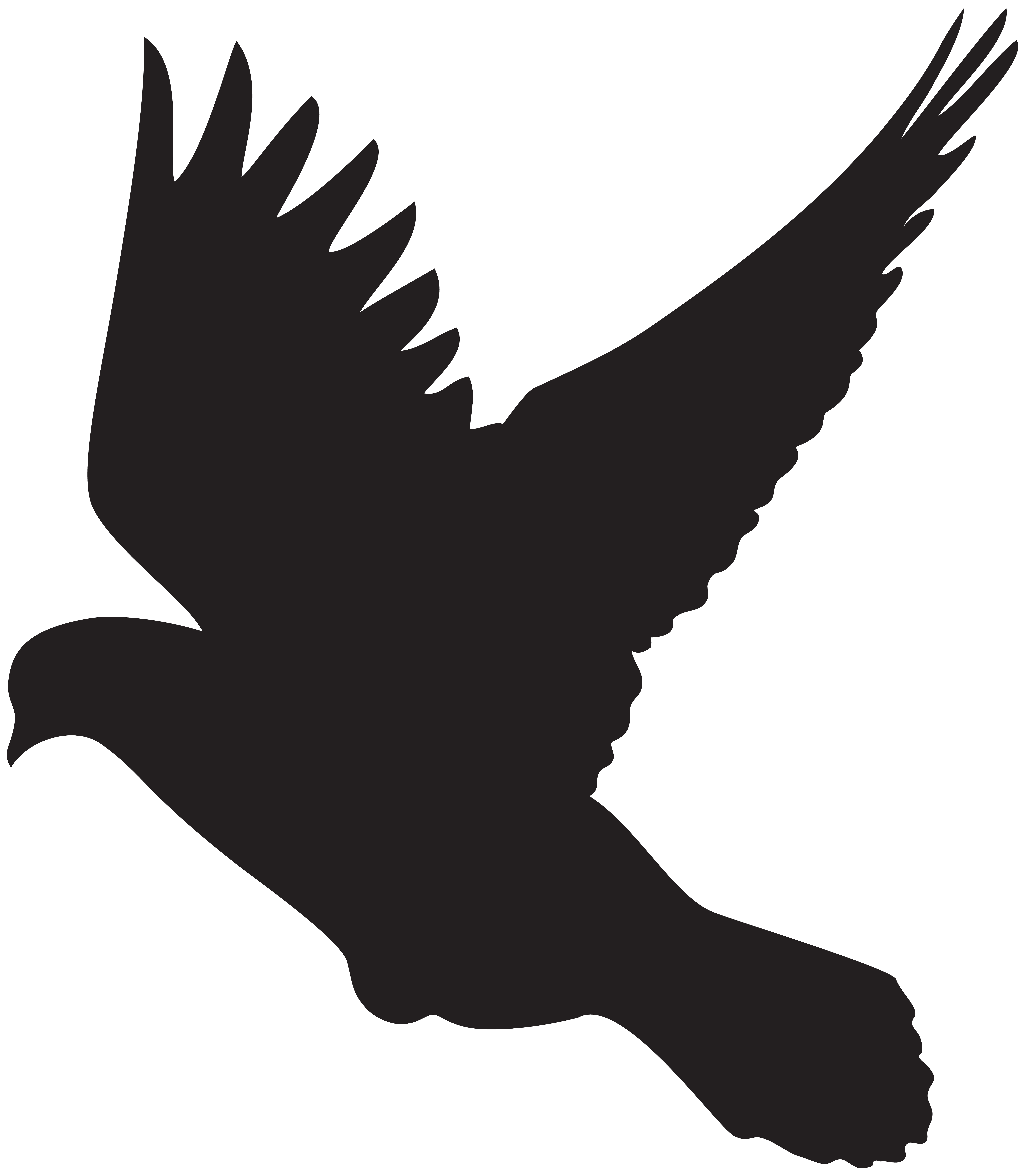 6971x8000 Flying Dove Silhouette Png Clip Artu200b Gallery Yopriceville