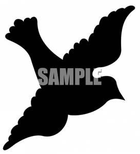 273x300 Image Silhouette Of A Dove
