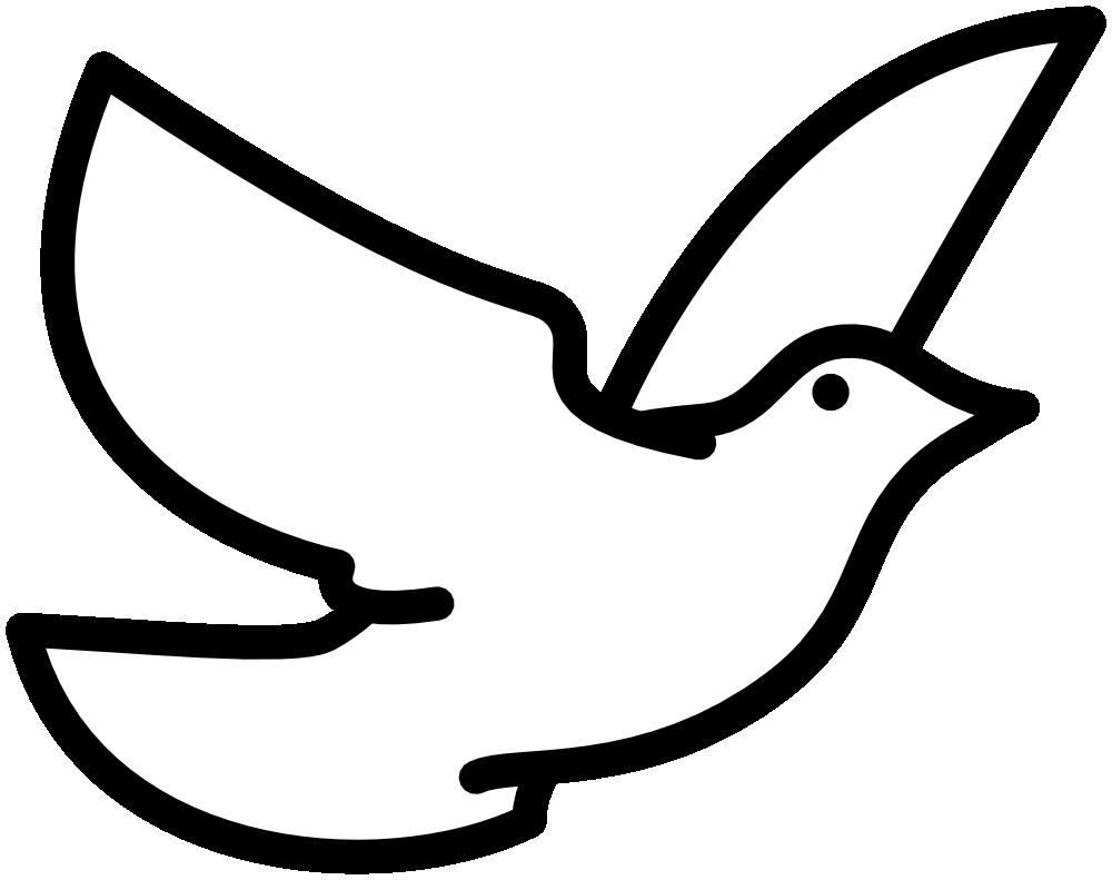 1000x791 Dove Clipart