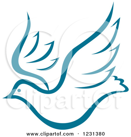 450x470 Flying Dove Clipart