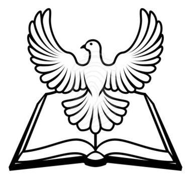 380x355 Holy Spirit Dove Clipart Black And White Panda Free
