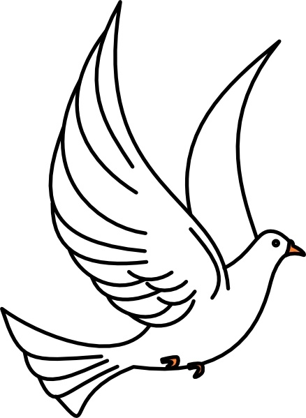 438x599 Dove And Cross Clipart Free Images 2