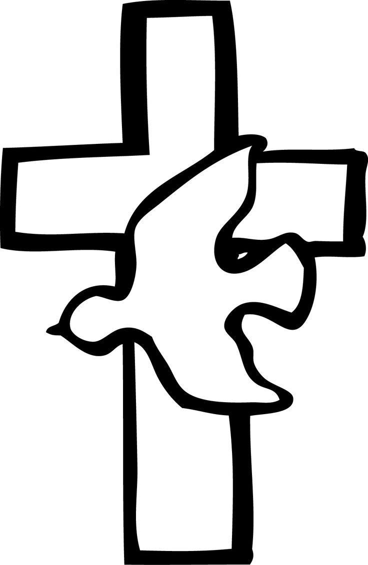 736x1131 Catholic Dove Image Clipart