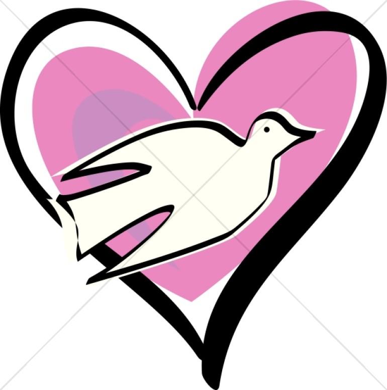 770x776 White Dove Clipart God