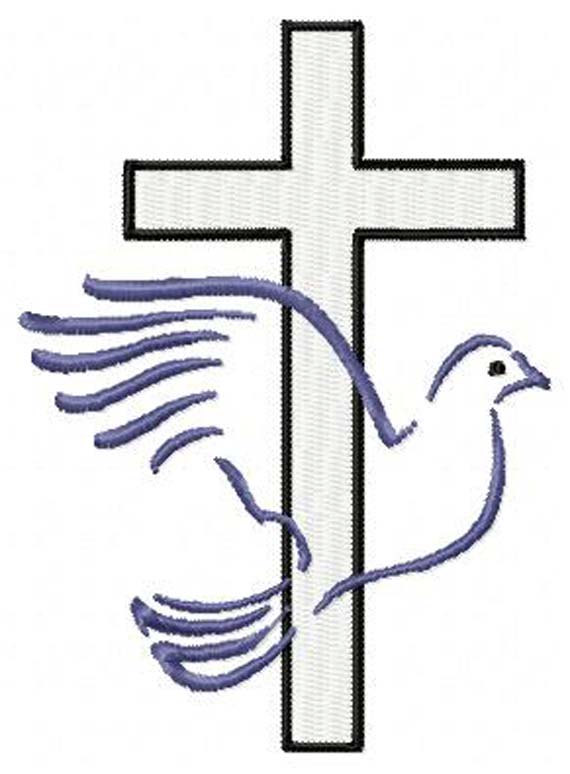 570x774 Confirmation Dove Clip Art