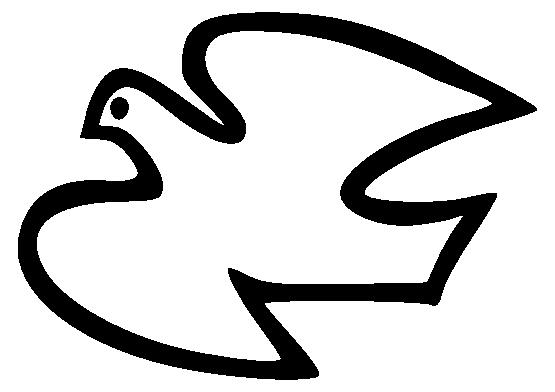 555x392 Dove Peace Symbol Clip Art