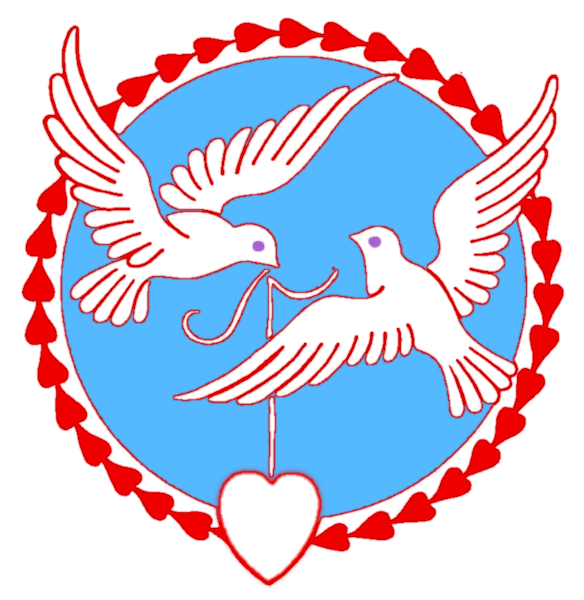 584x600 Free Valentine Doves Clipart, 1 Page Of Public Domain Clip Art