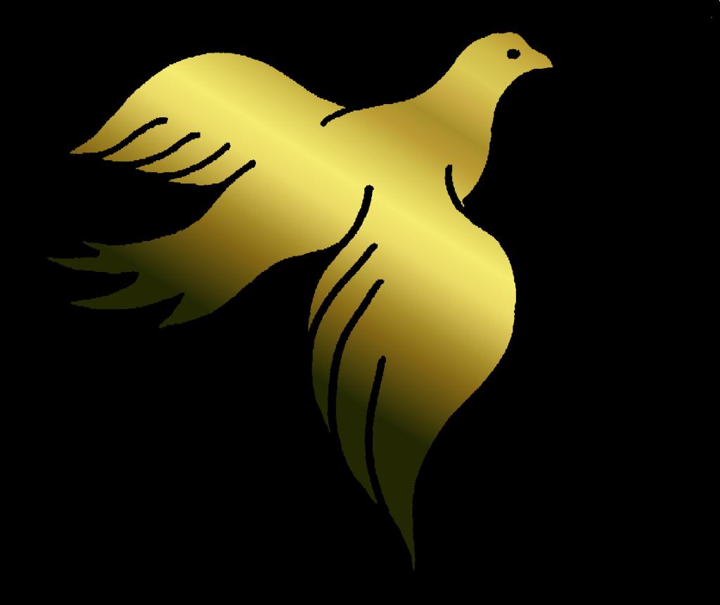 1024x861 Golden Clipart Dove