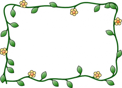 425x309 Free Flower Border Clip Art Download Now ! Lt Printables