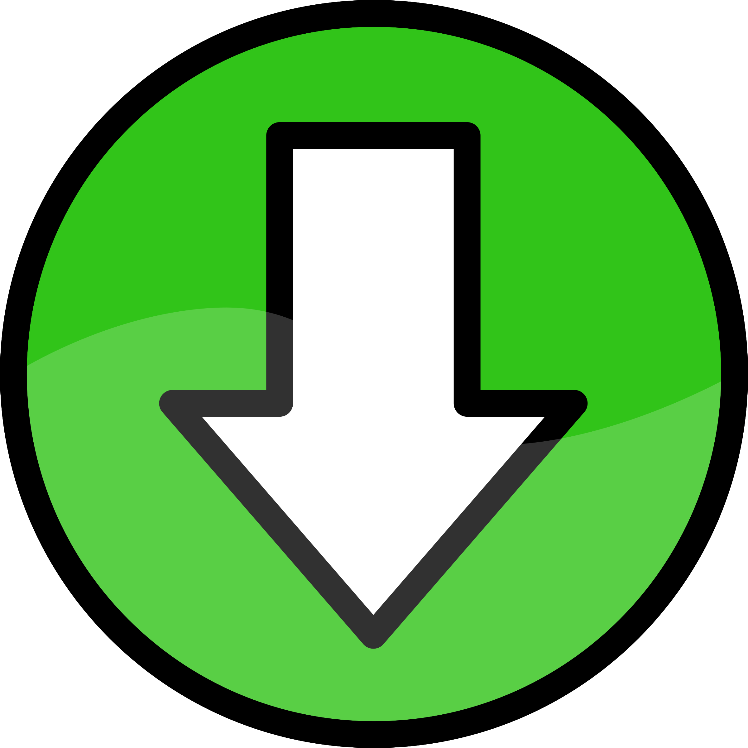 2400x2400 Download Icon Clip Art Cliparts