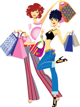 277x368 Fashion Shopping Girls Clip Art Free Vector Download (214,251 Free