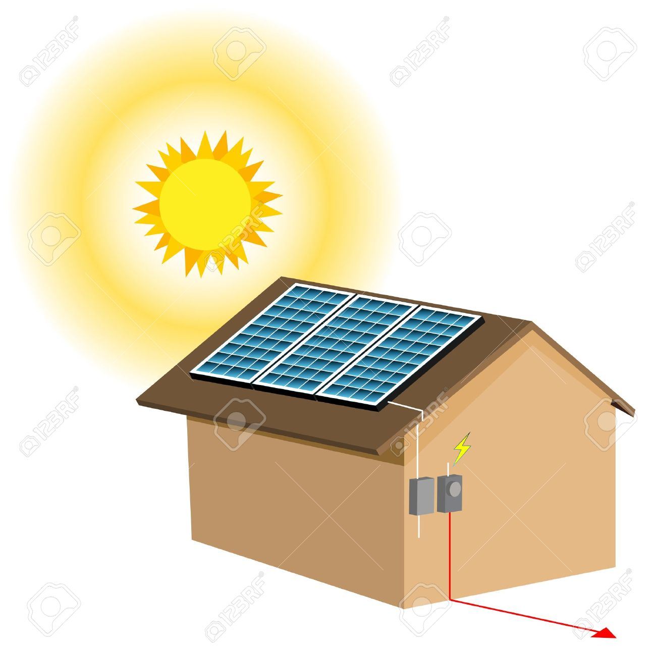 1300x1300 Energy Clipart Solar Cell