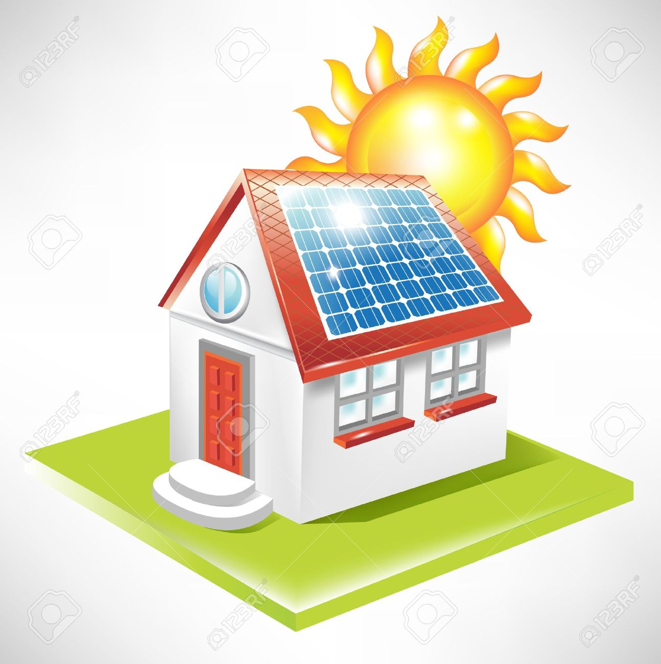 1294x1300 Panels Clipart Solar Power Plant