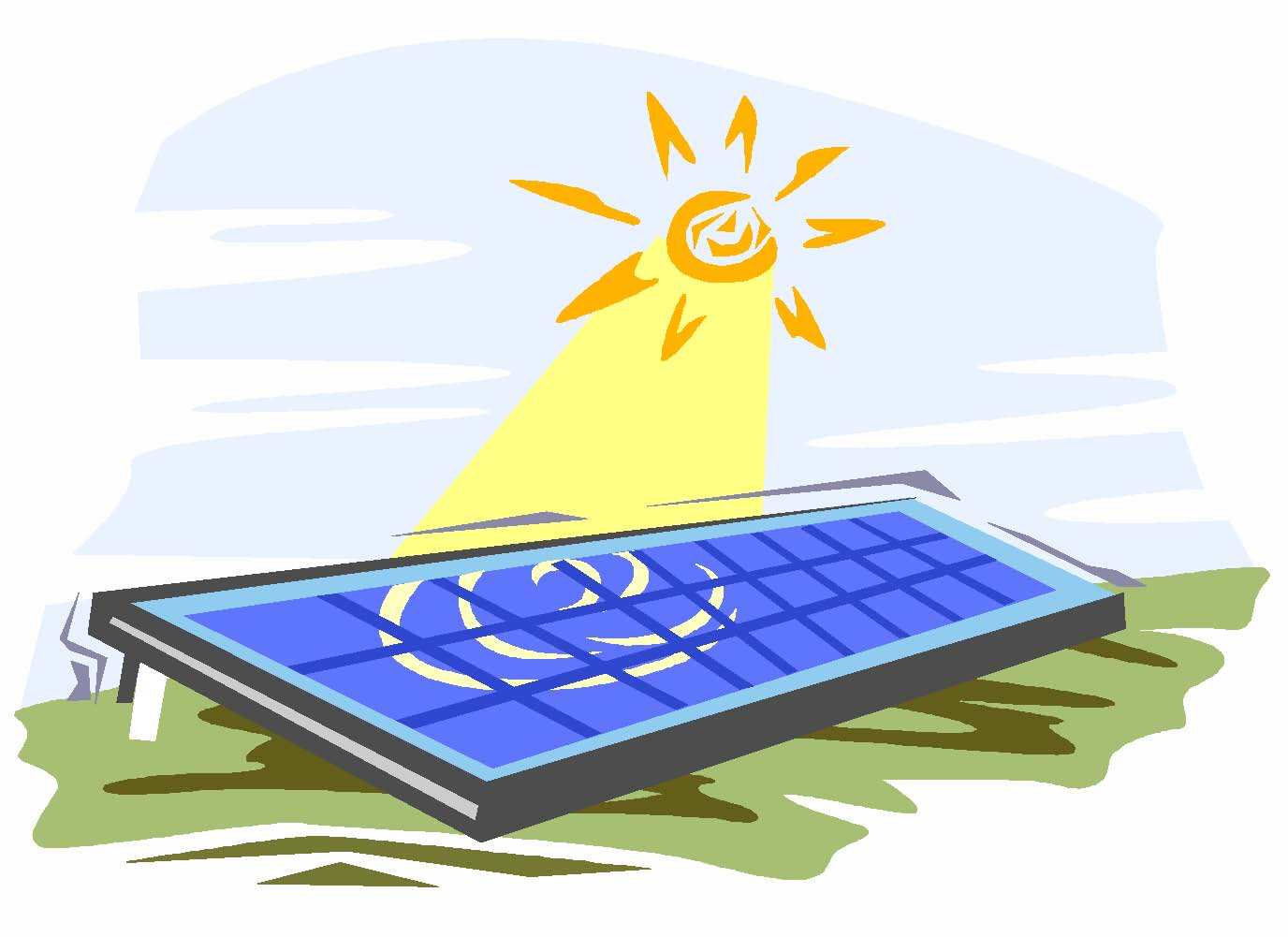 1376x1001 Solar Panel Clip Art Solar Clipart Panda