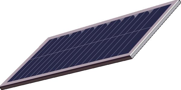 600x300 Solar Panel Clip Art