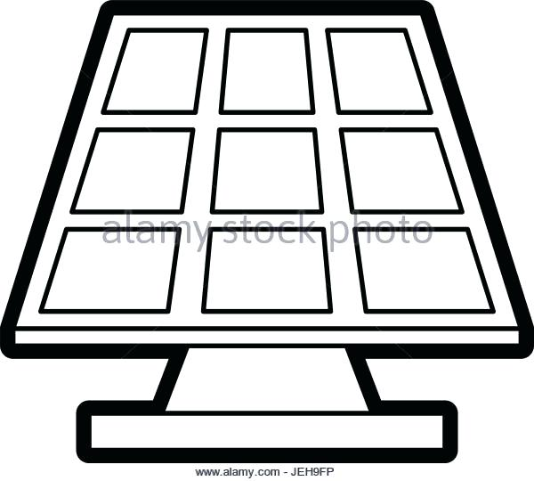 600x540 Solar Panel Clipart Solar Panel Black Path Icon Download Royalty