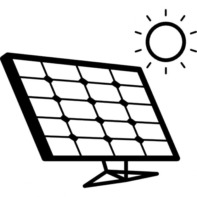 626x626 Solar Panel In Sunlight Icons Free Download
