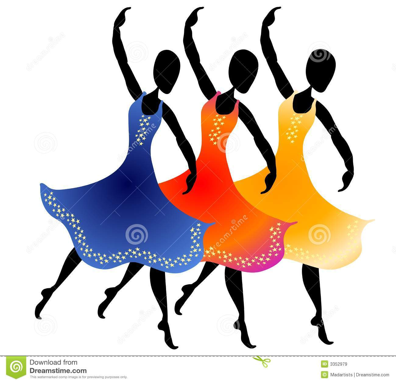 1300x1260 Free Downloadable Clipart People Dancing