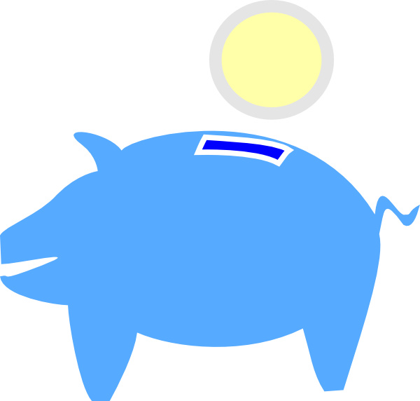 600x572 Piggy Bank Clip Art