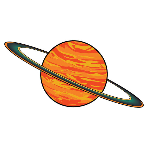 570x570 Planets And Space Instant Download Digital Clip Art Space