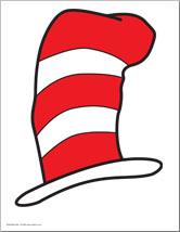 166x214 Dr Seuss Hat Clipart