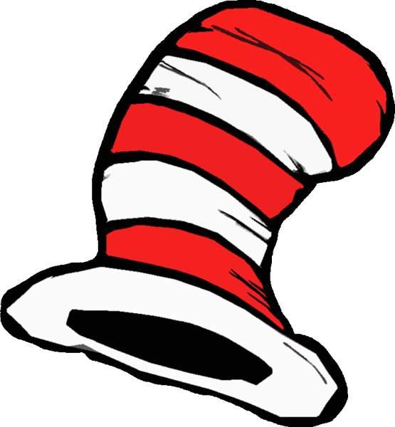 555x600 Hat Clipart Dr Seuss