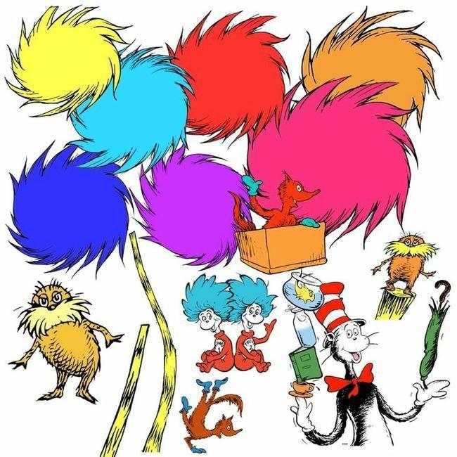 Dr Seuss Birthday Clipart