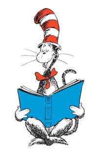 199x319 Dr Seuss Reading Clipart