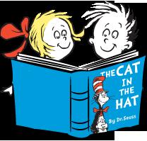208x199 Dr. Seuss Book Clip Art