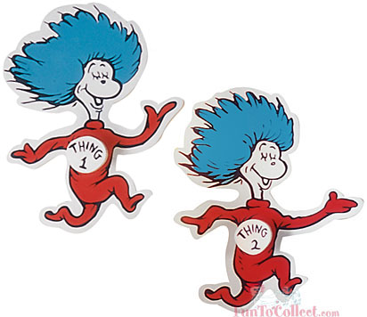 412x356 Thing 1 Thing 2 Clip Art