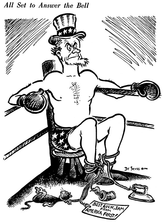 564x768 Dr Seuss' Satire Is Describing The Usa's Politics Today Whippet