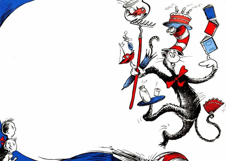 Dr Seuss Cat In The Hat Clipart