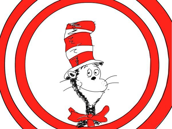 600x450 Cat In The Hat Hat Clipart