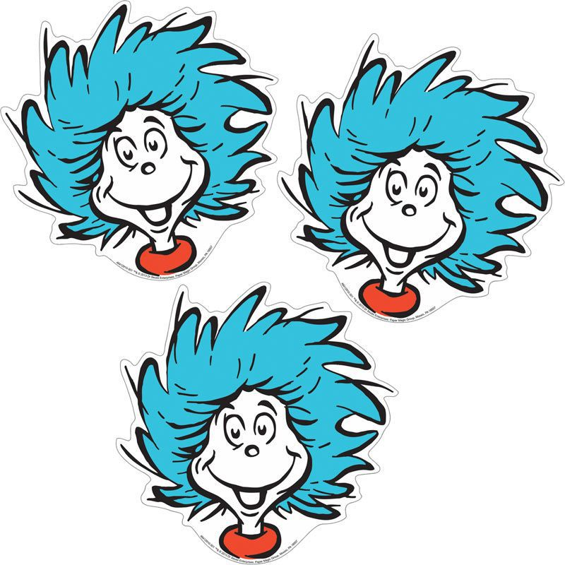 800x800 Thing 1 Thing 2 Clip Art
