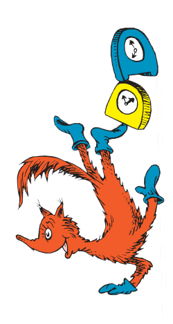 250x469 Fox In Socks (Character) Bulletin Board, School And Dr Seuss Week