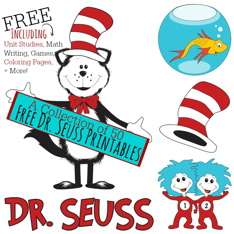 800x800 50 Free Dr. Seuss Printables (Math, Writing, Games, Amp More