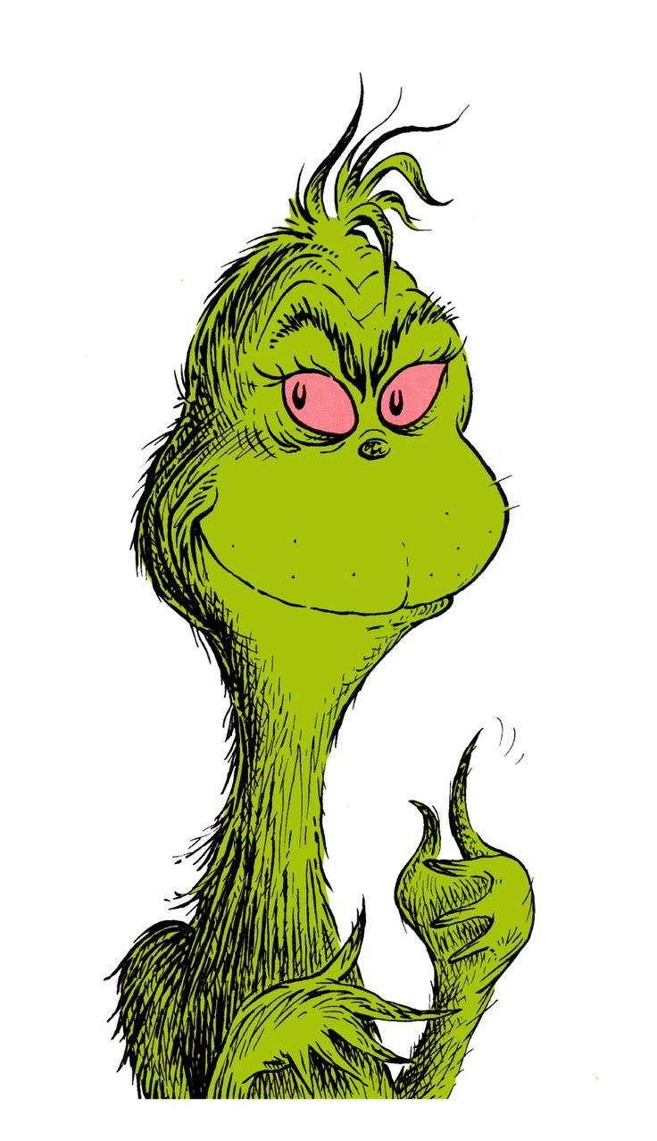 736x1277 Free Grinch Clipart Collection