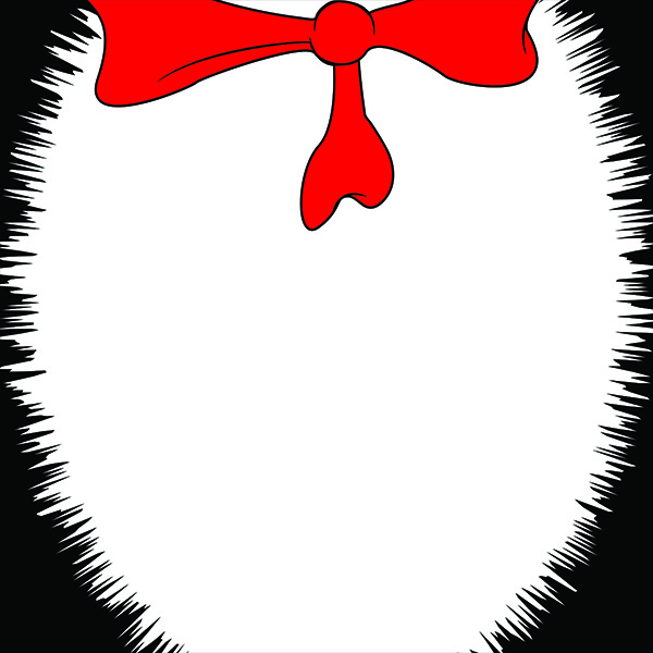 600x600 Cat In The Hat Dr Seuss Border Clipart