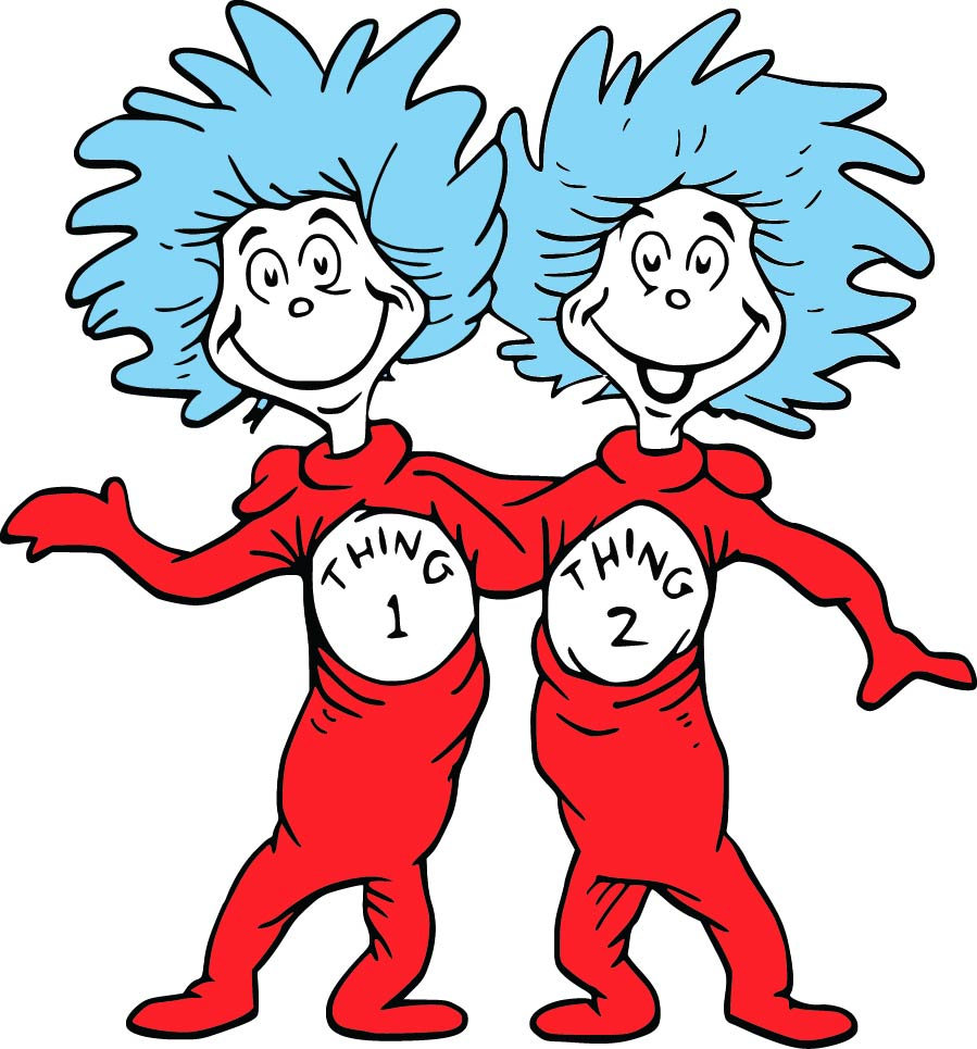 899x965 The Cat In The Hat Svg, Dr Seuss Svg, Thing 1 And Thing 2