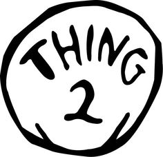 236x228 Thing 1 And Thing 2 Clipart